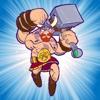 バーバリアン ファイター vs. ゾンビ 防衛 TD - バイキングのキングの伝説 トールの無双ハンマー アクション型タワーディフェンス - iPhoneアプリ