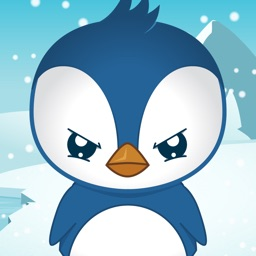 PET PENGUIN - my virtual pet with attitude! - fun, cute, cartoon talking toy animal friend to care for and dress up :)