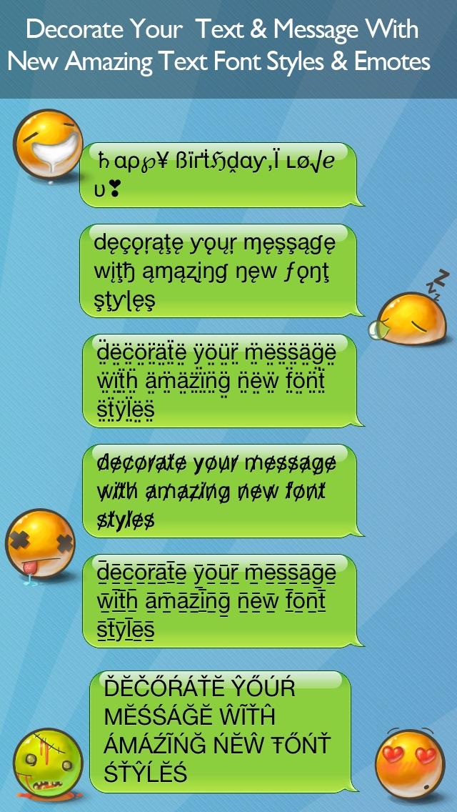 Cool text emojis
