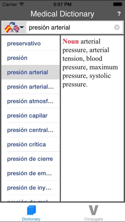 Spanish-English Medical Dictionary (Offline) screenshot-3