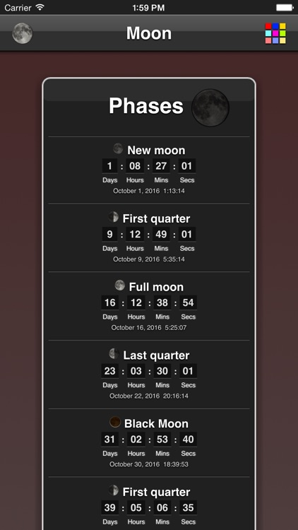 Moon Phases screenshot-4