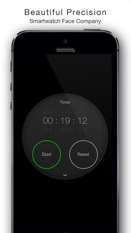 Circles - Smartwatch Face and Alarm Clock screenshot-4