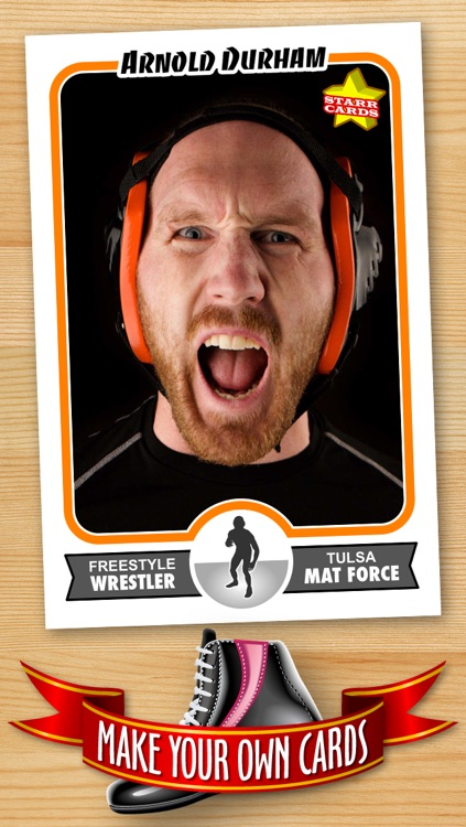 Wrestling Card Maker - Make Your Own Custom Wrestling Cards with Starr Cards