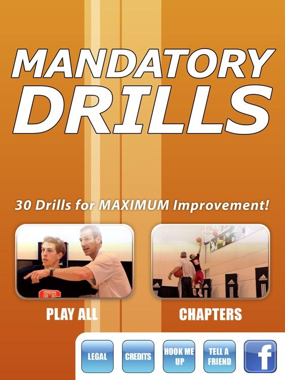Mandatory Drills: 30 Drills For Maximum Improvement - With Coach Ed Schilling - Full Court Basketball Training Instruction - XL
