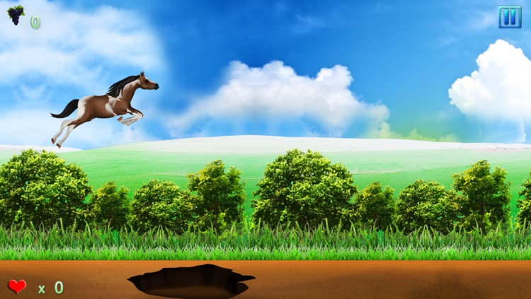 Horse Poney Wild Agility Race : The forest dangerous path - Free Edition screenshot-3
