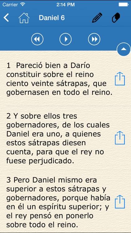 Audio Libro - La Santa Biblia screenshot-3