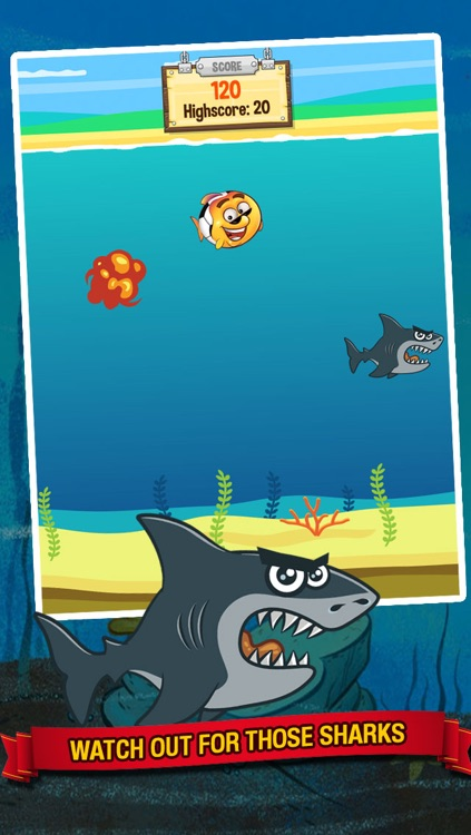 Ocean Soccer - Underwater Kick Ups Finger Football screenshot-2