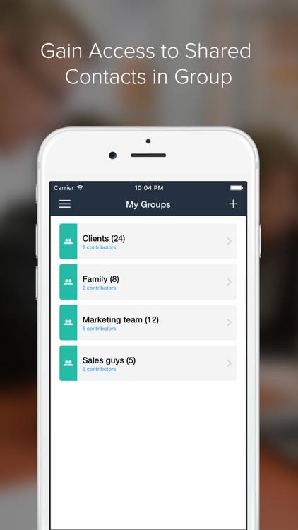 InviteUnite - Share Contacts