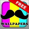 Mustache Wallpapers - FREE Amazing & Unique Backgrounds - iPhoneアプリ