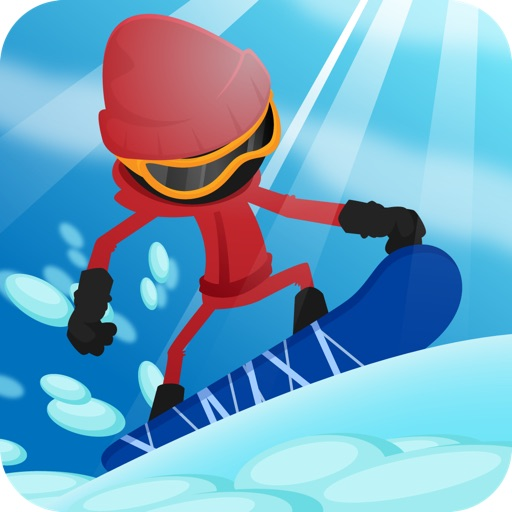 A Stickman Snowboard Racer - 2014 World Champion Snowboarding Edition icon