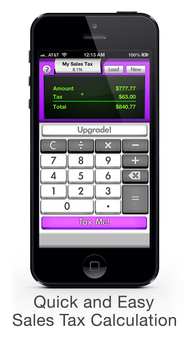 Sales Tax Calculator FREE Tax Me - Shopping Checkout, Coupon and Discount Helper Screenshot