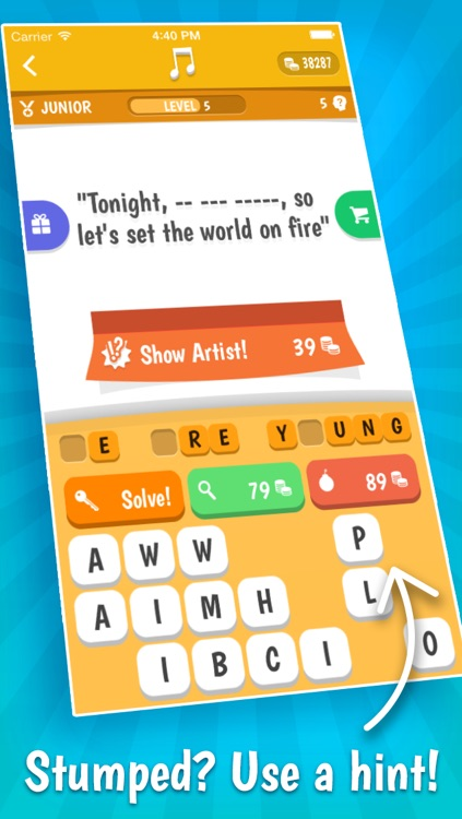 Song Quiz – The Free Lyric Guessing Game