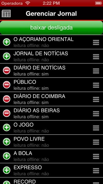 Jornal Português - Portuguese Newspapers - News Portugal screenshot-4