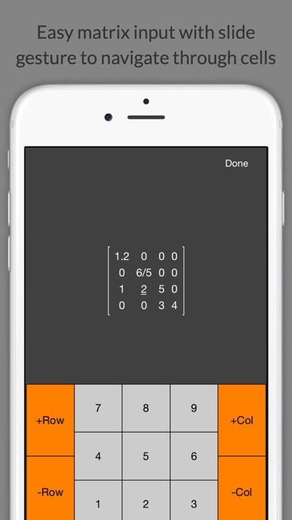 Matrix Calculator +    —Lite Version screenshot-3