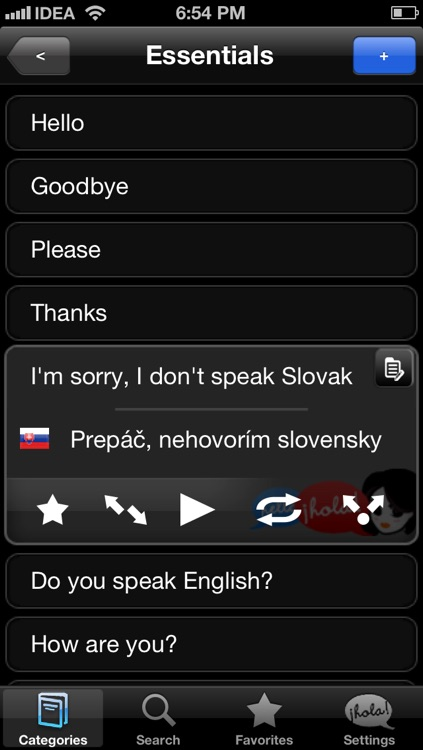 Lingopal Slovak LITE - talking phrasebook