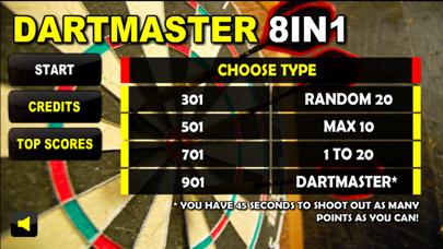 Dartmaster 8in1 - Best Free Darts and Sport Game Mania screenshot one