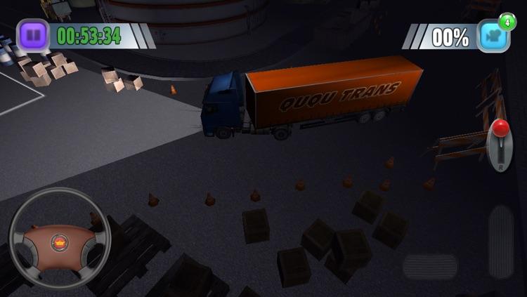 TruckSim: 3D Night Parking Simulator screenshot-3