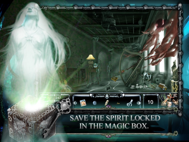 Abandoned Haunted House : Hidden Objects screenshot-3