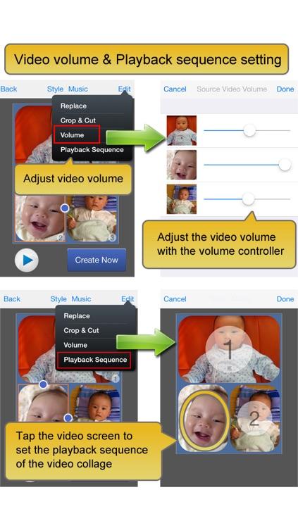 Video Album - Frame Video, Join Video, Crop Video, Rotate Video screenshot-3