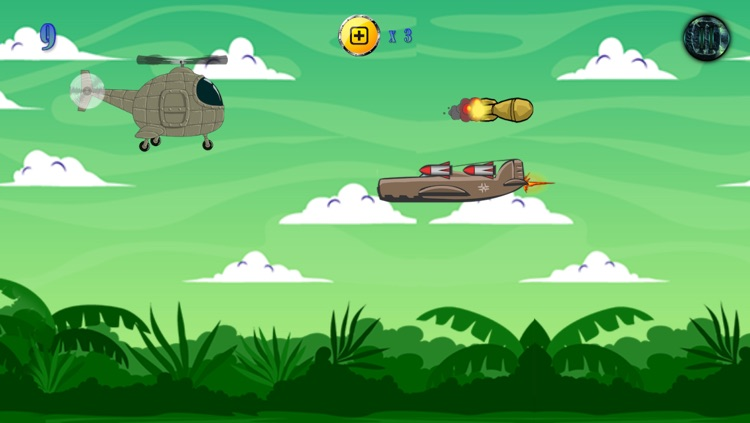 Helicopter Shooting Attack Adventure - Heli Sky Bomb Blast Mania Free screenshot-3