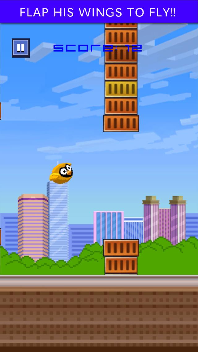 Brave Splashy Bird - a jumpy fish fly floppy game screenshot one