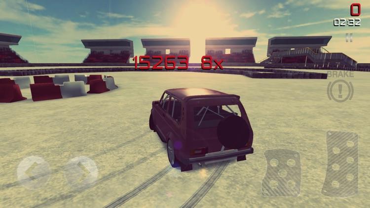 Drifting Lada Edition - Retro Car Drift and Race screenshot-4