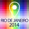 オフライン地図リオデジャネイロ - ガイド、観光スポットや交通機関