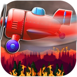 Fire Rescue Plane FREE- Forest Flame Destruction
