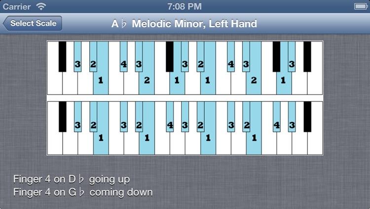 Visual Piano Scales screenshot-3