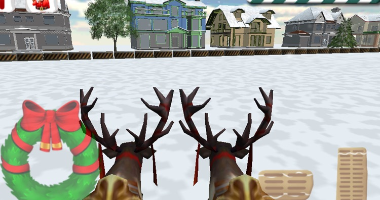 Santa Claus Sleigh Parking 3D screenshot-3