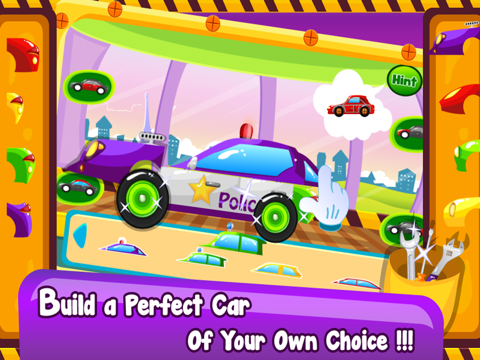 Little Car Builder- Tap to Make New Vehicles In Your Amazing Auto Factory-ipad-0