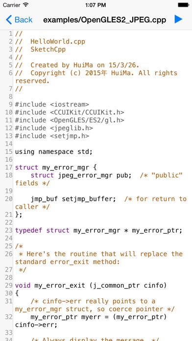 C Compiler Free (Offline, Debug) screenshot two