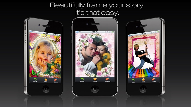 Foto Frame DLX- easy Arty Superimpose yr Picture Frames Chop + Photo Frames + Picture Collage for Instagram Free screenshot-3