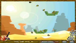 Cannon Bomb Shooter: Blast the Piggies! Screenshot on iOS
