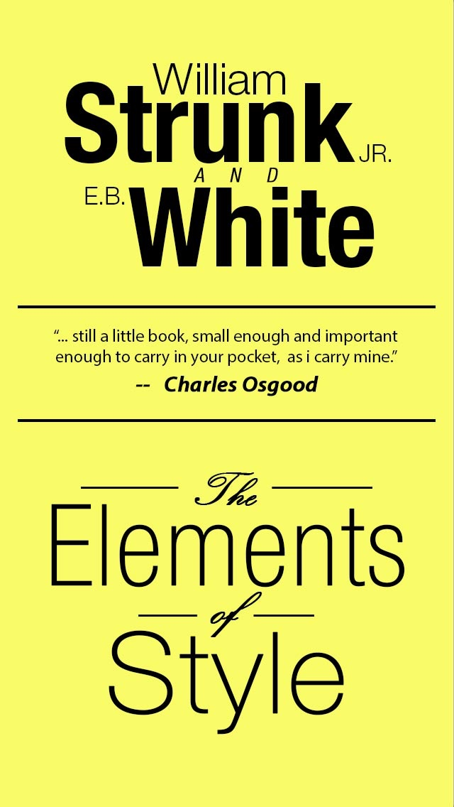 The Elements of Style, Fourth Edition By William Strunk, Jr. Screenshot