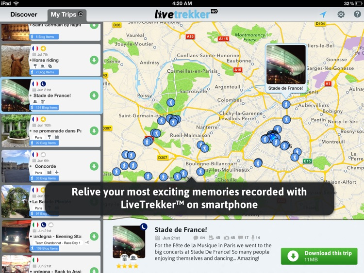 LiveTrekker GO