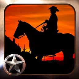 Lone Star Outlaw Legend: Cowboy Ranger Old Wild West Shooter