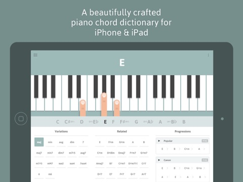 See chords on your piano in AR