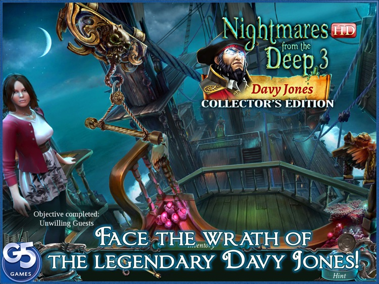 Nightmares from the Deep™: Davy Jones, Collector's Edition HD screenshot-0