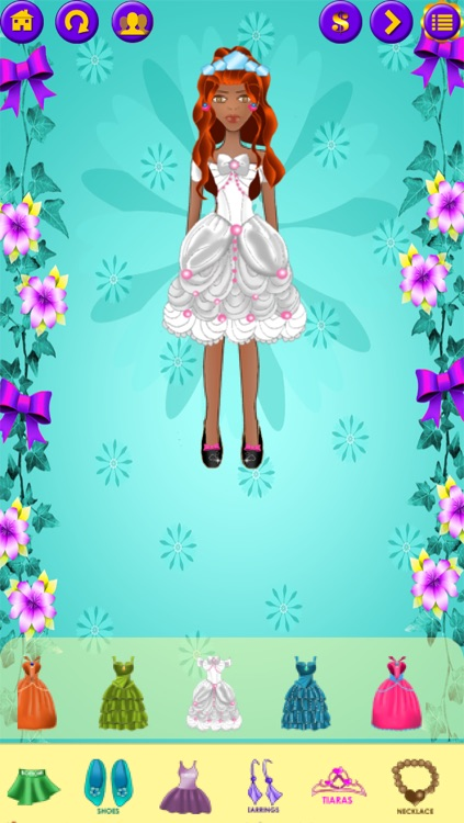 Dress Up Princess : My Fairy Tale Fashion Salon - FREE Dressup and Makeup Game! screenshot-3