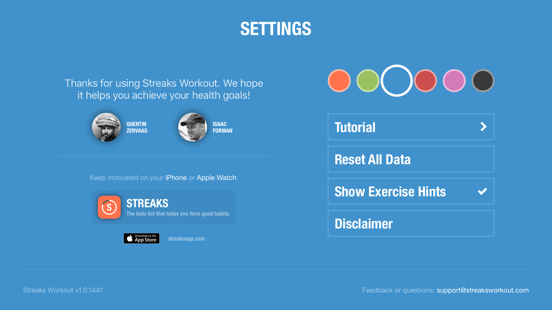 Streaks Workout screenshot 19