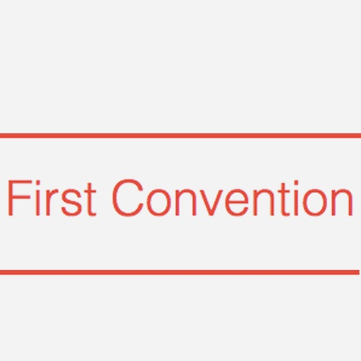 First Convention
