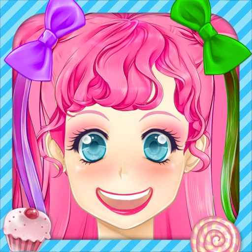 Manga Lily Dress Up - KaiserGames ™ play japanese anime style make over princess game for girls with love beauty & make up