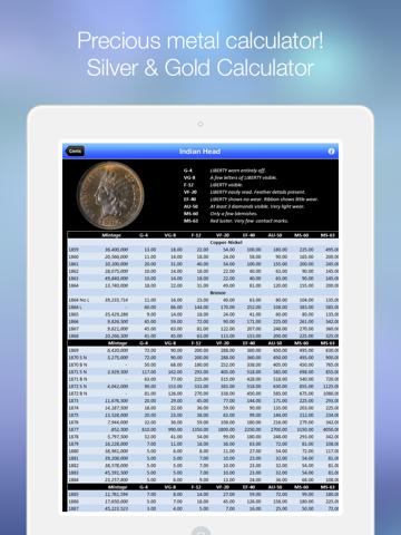 CoinBook Pro: A Catalog of U.S. Coins - an app about dollar, cash & coin screenshot