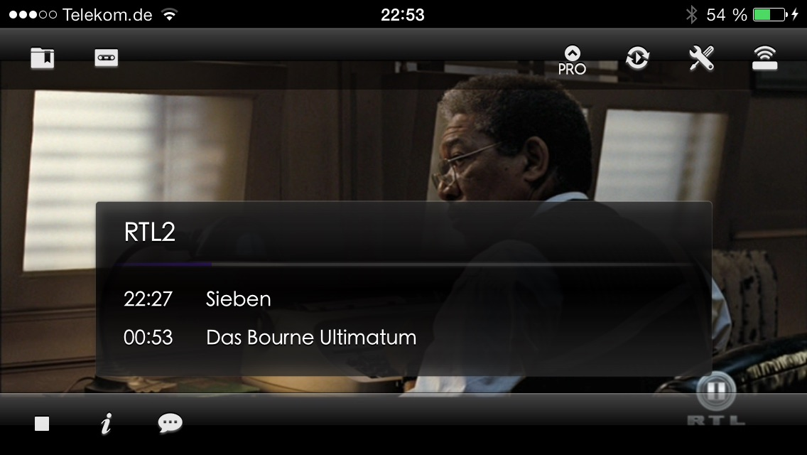 Blackbox Live for Dreambox and Vu+ (formerly Dreambox LIVE) Screenshot