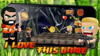 栄光のフェージング前線トレンチの端に侍Zとコマンドーガンナー - 無料3Dゲーム! Samurai Z and Commando Gunner on the Edge of the Fading Frontline Trenches of Glory - FREE 3D Game!のおすすめ画像2