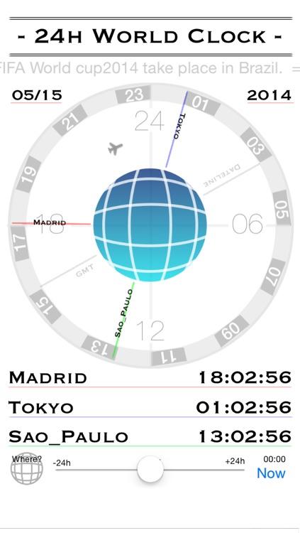 24h World-Clock screenshot-4
