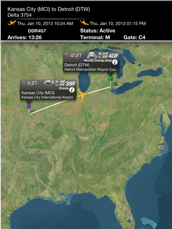 Kansas City Airport Pro (MCI) + Flight Tracker HD