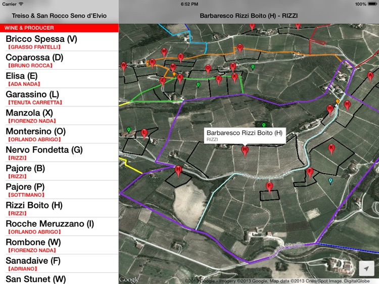 Treiso Wine Map screenshot-3