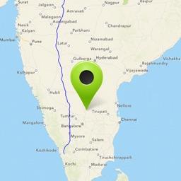 MapsIndia Find distance